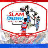 小型籃球板 P116-2418A 小籃框籃球框架