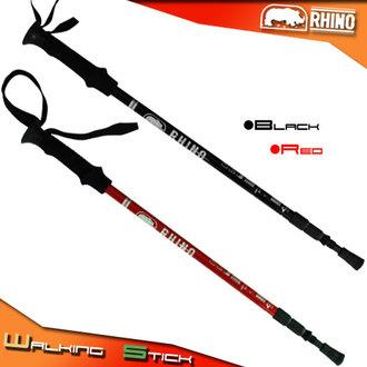 【RHINO 犀牛】超輕碳纖維登山杖P102-786伸縮杖.拐杖.柺杖.手杖